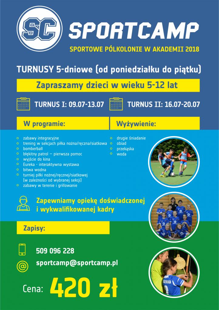 Akademiia SportCAmp organizuje półkolonie siatkarskie w Szczecinie